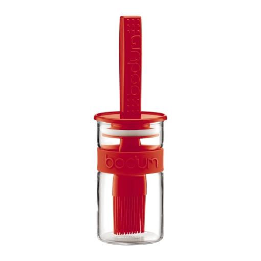 Онлайн каталог PROMENU: Стакан-соусник с кисточкой Bodum, 0,25 л, красный                               11203-294