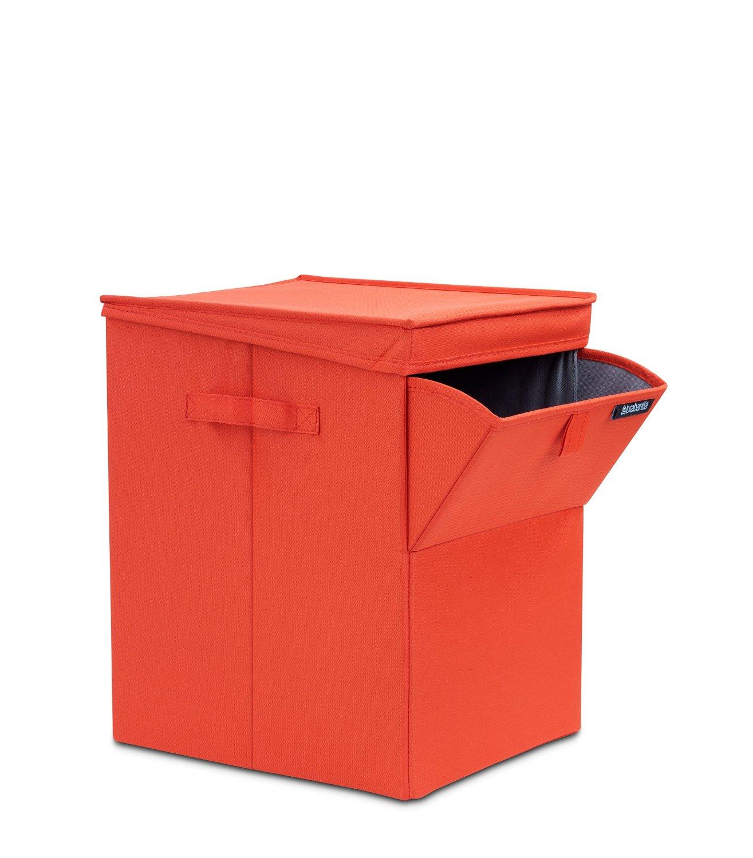 Сумка-короб для белья с крышкой модульная Brabantia, 44,5х32х37, красная Brabantia 109362 фото 1