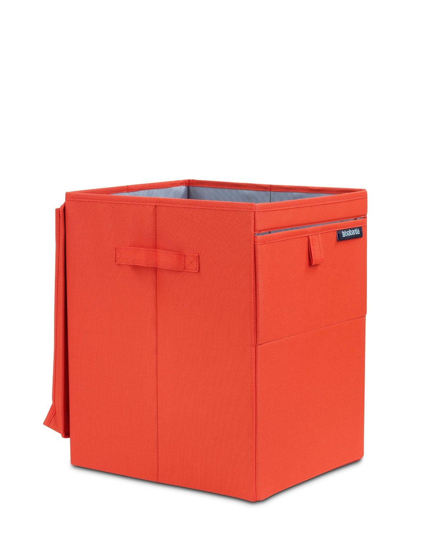 Сумка-короб для белья с крышкой модульная Brabantia, 44,5х32х37, красная Brabantia 109362 фото 2