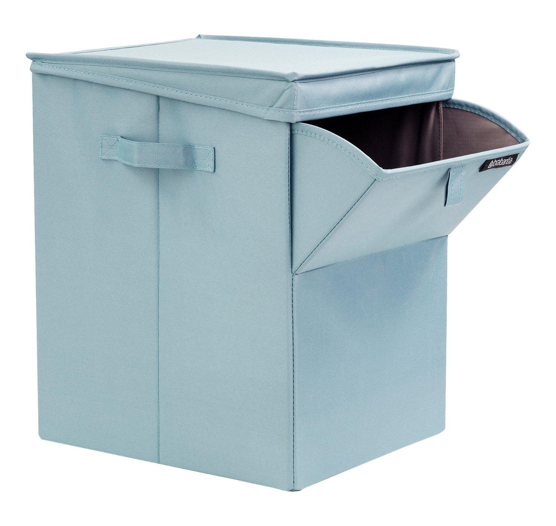 Сумка-короб для белья с крышкой модульная Brabantia, 44,5х32х37, зеленая Brabantia 109409 фото 1