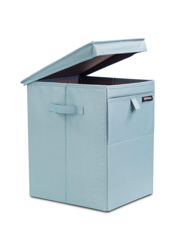 Сумка-короб для белья с крышкой модульная Brabantia, 44,5х32х37, зеленая Brabantia 109409 фото 0