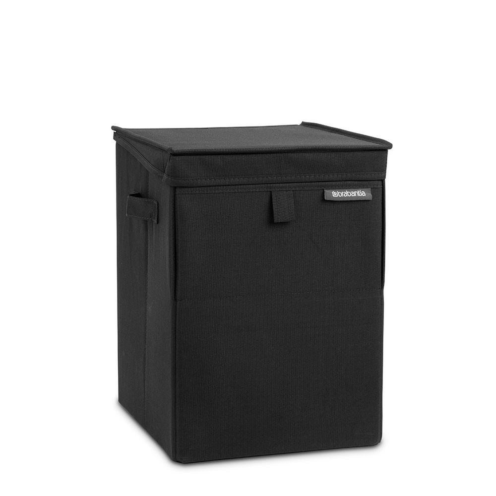 Сумка-короб для белья с крышкой модульная Brabantia, 44,5х32х37, черная Brabantia 109300 фото 0