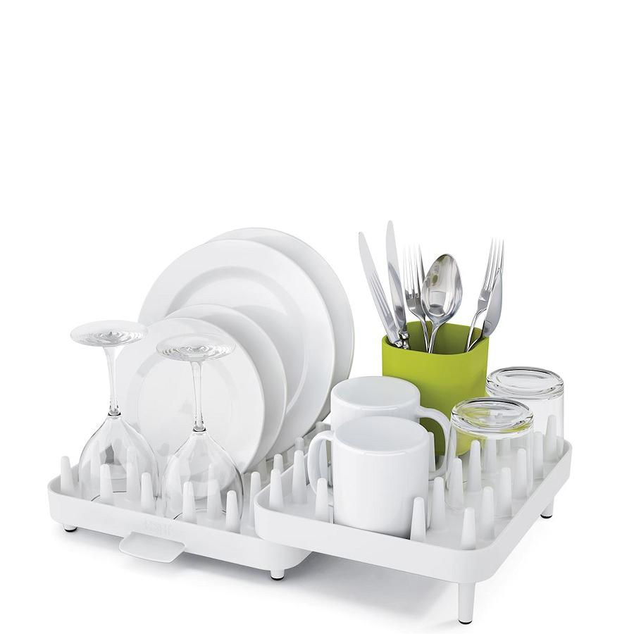 Набор регулируемых сушилок для посуды Joseph Joseph CONNECT, 47,3х27,0х17,6 см, 3 предмета, белый Joseph Joseph 85034 фото 2