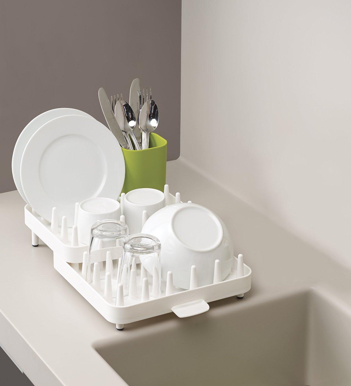 Набор регулируемых сушилок для посуды Joseph Joseph CONNECT, 47,3х27,0х17,6 см, 3 предмета, белый Joseph Joseph 85034 фото 4