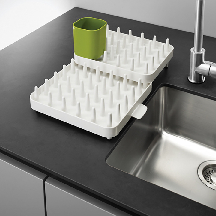 Набор регулируемых сушилок для посуды Joseph Joseph CONNECT, 47,3х27,0х17,6 см, 3 предмета, белый Joseph Joseph 85034 фото 5