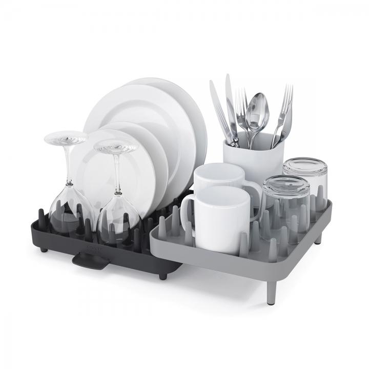 Набор регулируемых сушилок для посуды Joseph Joseph CONNECT, 47,3х27,0х17,6 см, 3 предмета, серый Joseph Joseph 85035 фото 1