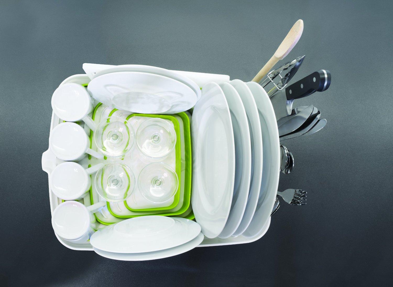 Сушилка для посуды и столовых со сливом Joseph Joseph ARENA, 35x44x11 см, серый Joseph Joseph 85003 фото 4