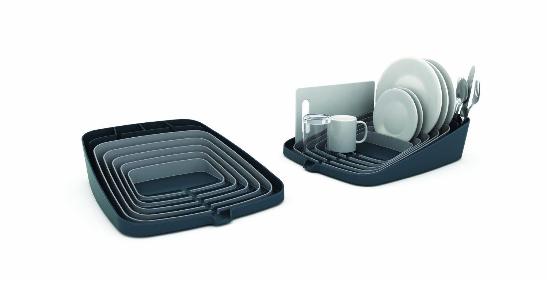 Сушилка для посуды и столовых со сливом Joseph Joseph ARENA, 35x44x11 см, серый Joseph Joseph 85003 фото 2