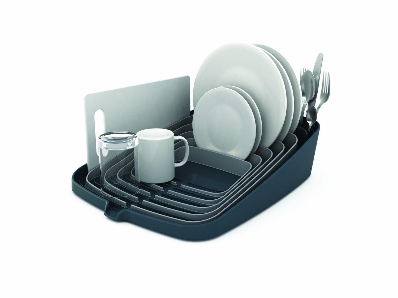 Сушилка для посуды и столовых со сливом Joseph Joseph ARENA, 35x44x11 см, серый Joseph Joseph 85003 фото 1