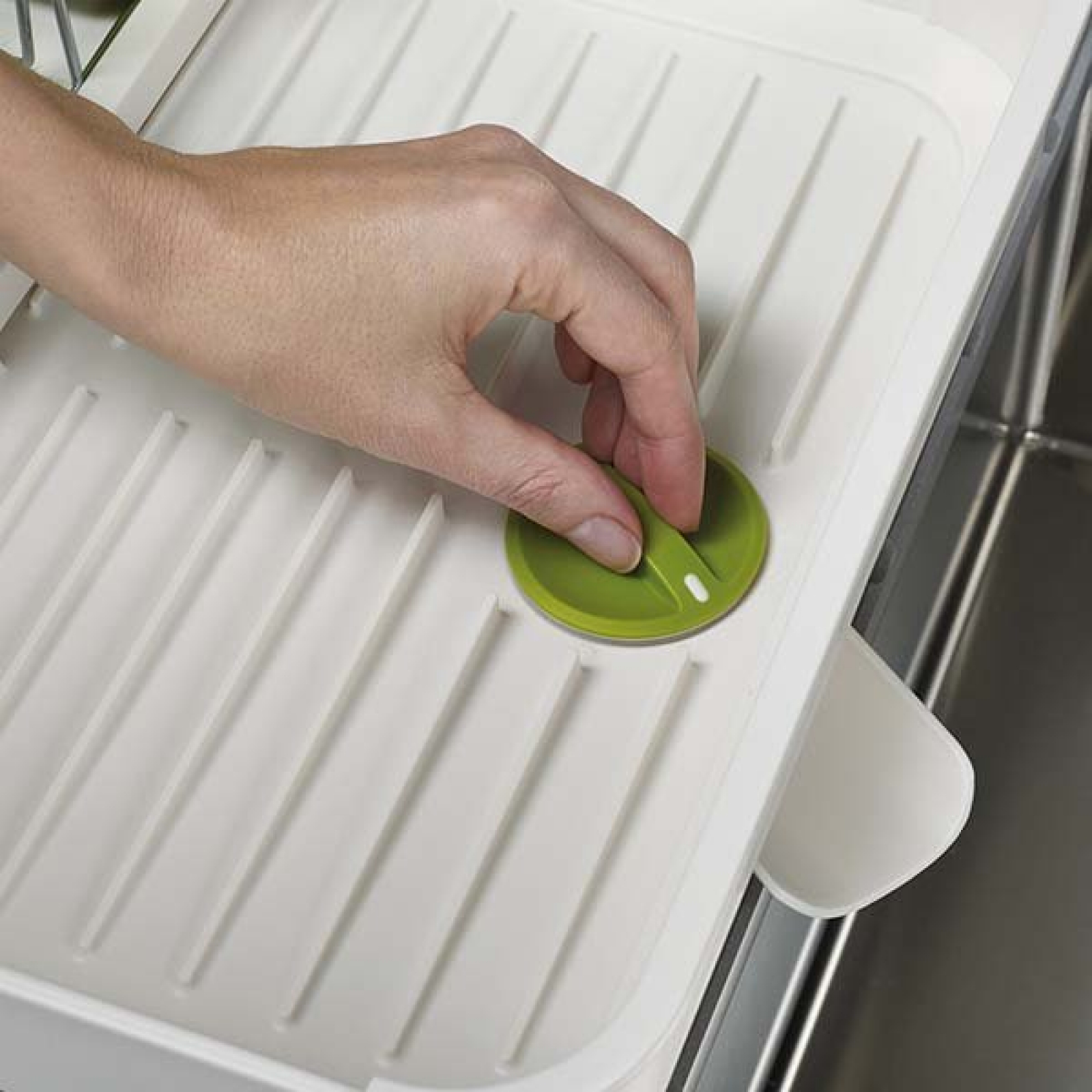 Сушилка для посуды раздвижная Joseph Joseph extend, 32х16х36 см, белый Joseph Joseph 85071 фото 5