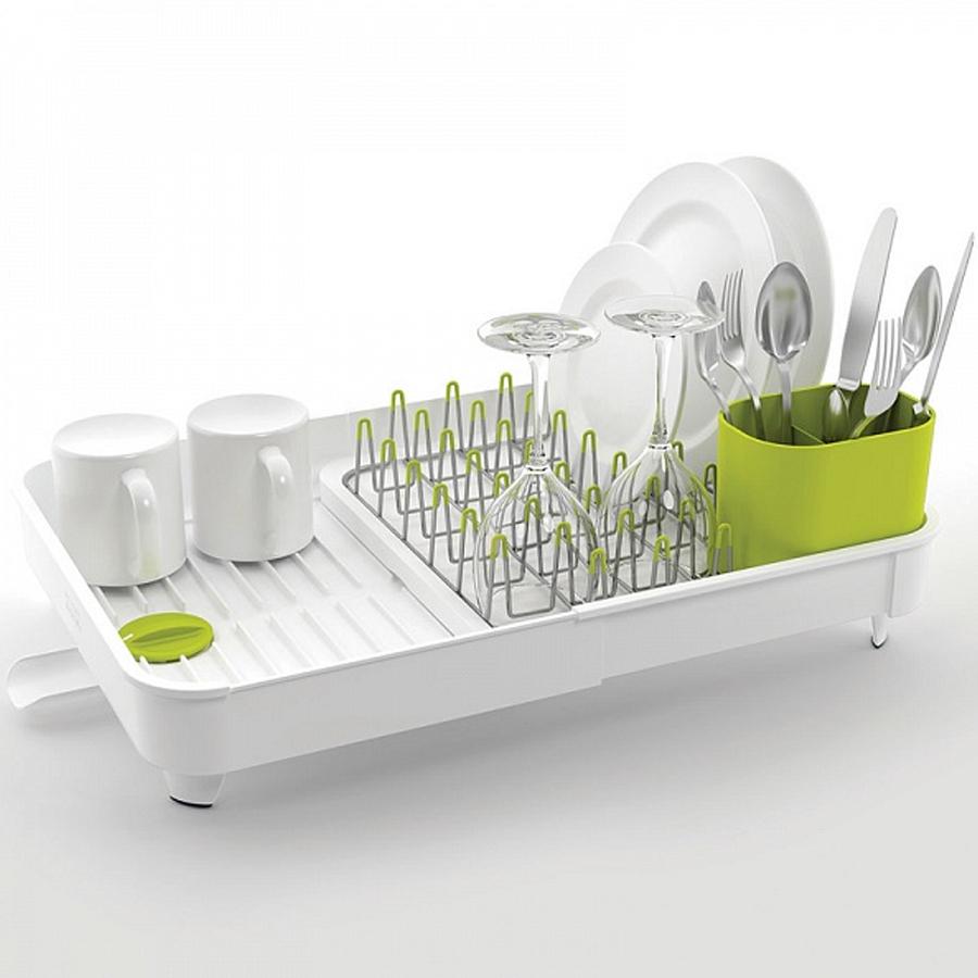 Сушилка для посуды раздвижная Joseph Joseph extend, 32х16х36 см, белый Joseph Joseph 85071 фото 1