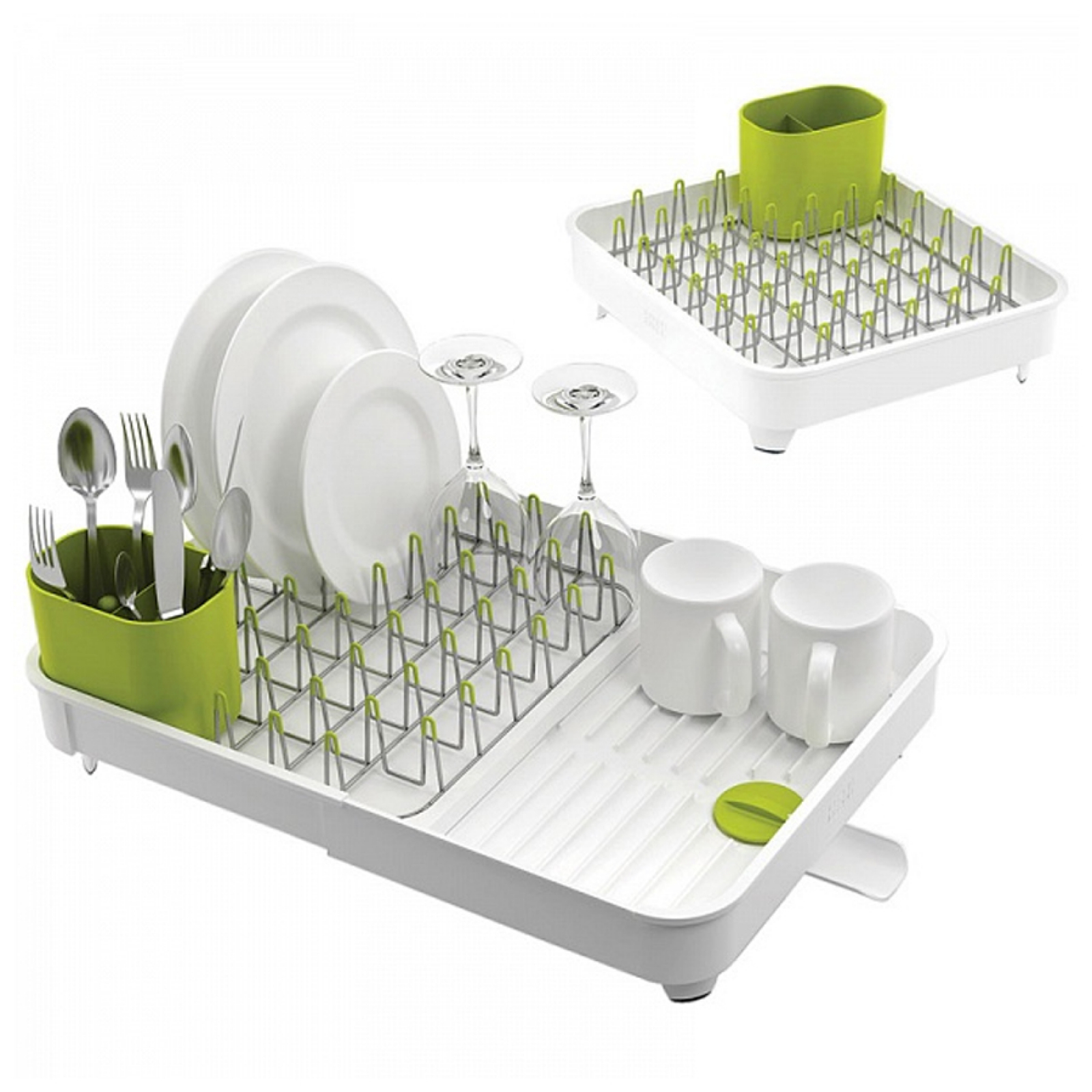 Сушилка для посуды раздвижная Joseph Joseph extend, 32х16х36 см, белый Joseph Joseph 85071 фото 2