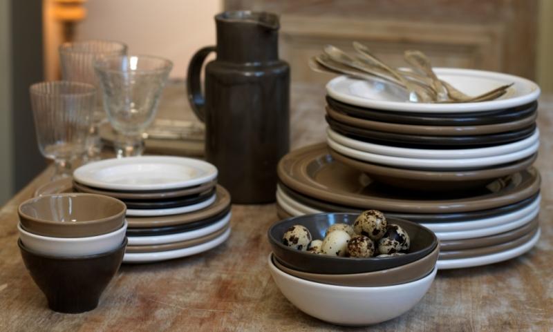 Тарелка десертная/закусочная Emile Henry Tableware, 21 см, белый Emile Henry 118870 фото 2