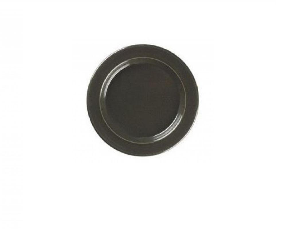 Тарелка десертная/закусочная Emile Henry Tableware, диаметр 21 см, черный Emile Henry 798870 фото 1