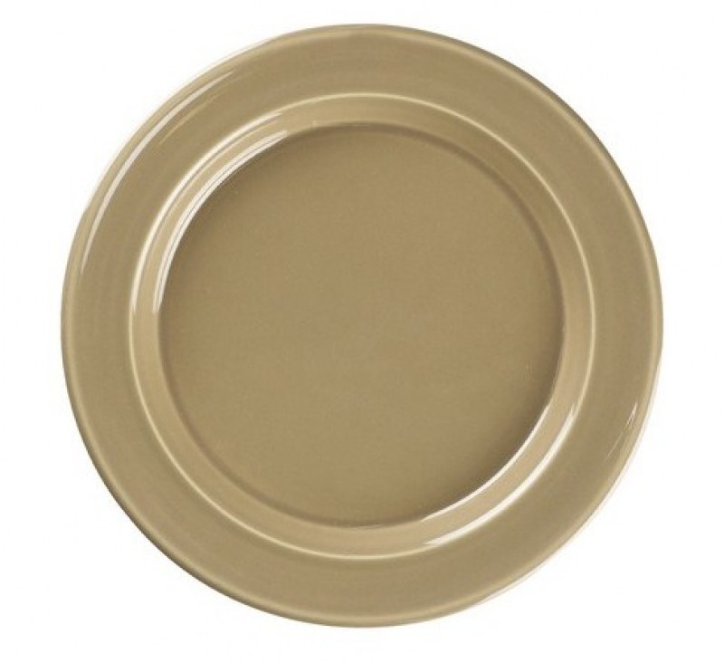 Онлайн каталог PROMENU: Тарелка десертная/закусочная Emile Henry Tableware, 21 см, коричневый Emile Henry 968870