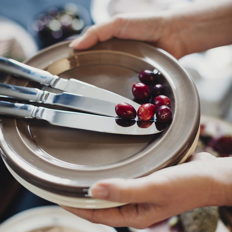 Тарелка десертная/закусочная Emile Henry Tableware, диаметр 21 см, blue flame Emile Henry 978870 фото 3