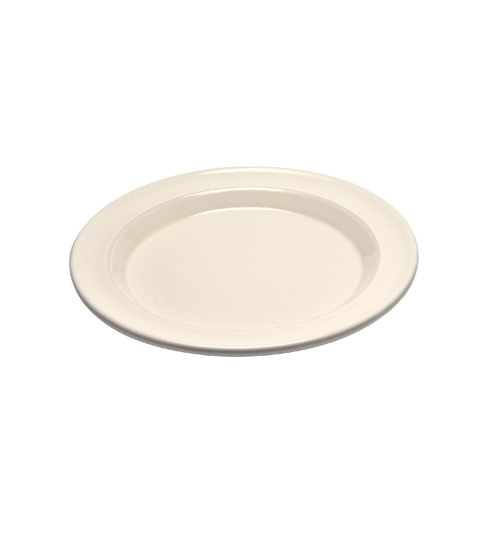 Тарелка десертная/закусочная Emile Henry, 21 см, бежевый Emile Henry 028870 фото 1