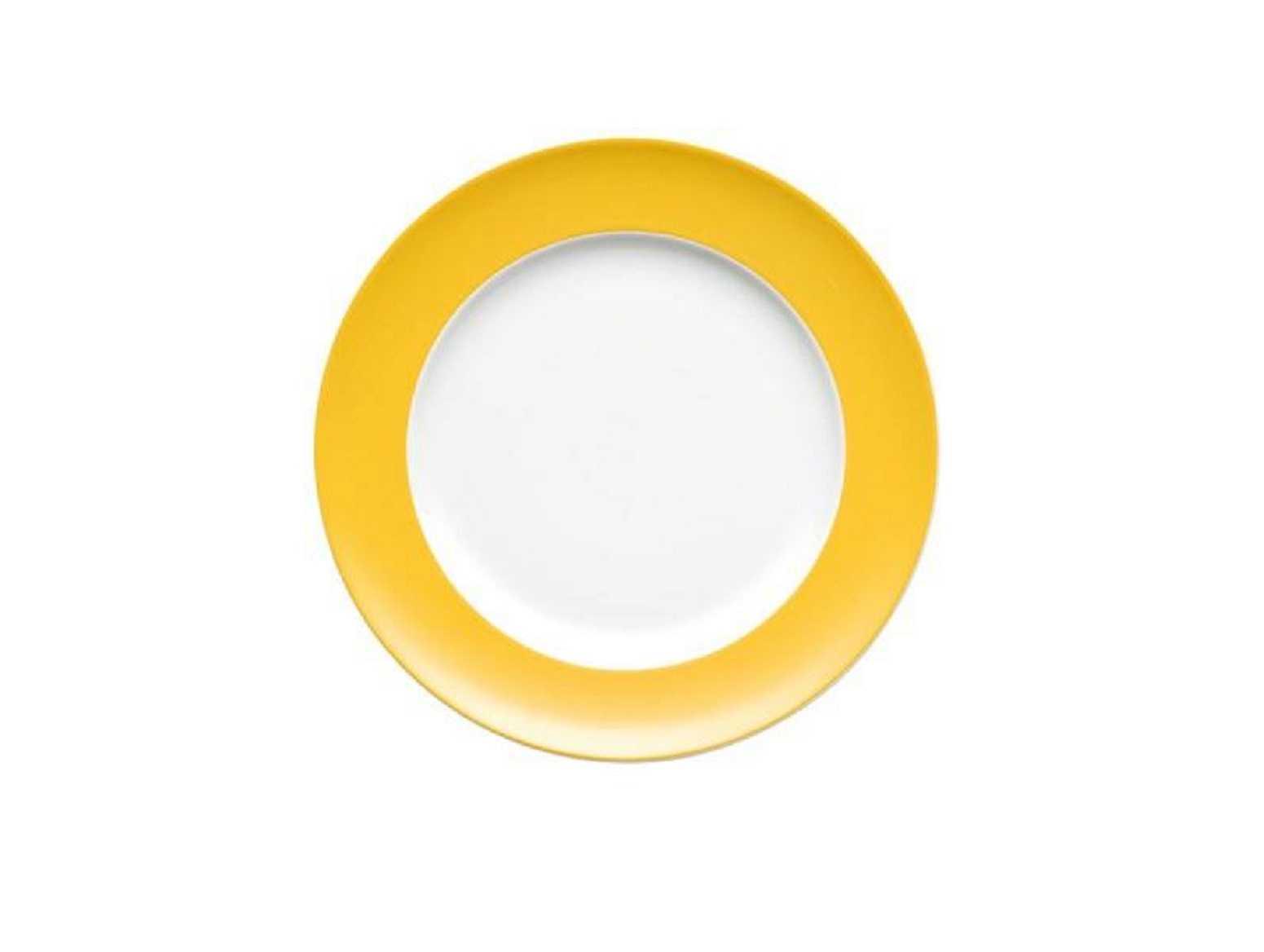 Онлайн каталог PROMENU: Тарелка десертная/закусочная Rosenthal SUNNY DAY, диаметр 22 см, желтый Rosenthal 70850-408502-10222