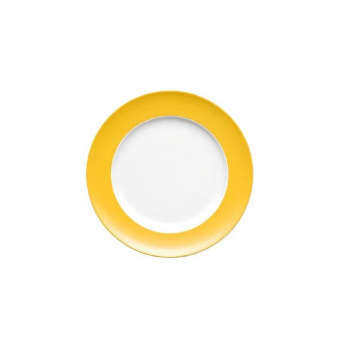 Тарелка десертная/закусочная Rosenthal SUNNY DAY, диаметр 22 см, желтый Rosenthal 70850-408502-10222 фото 1