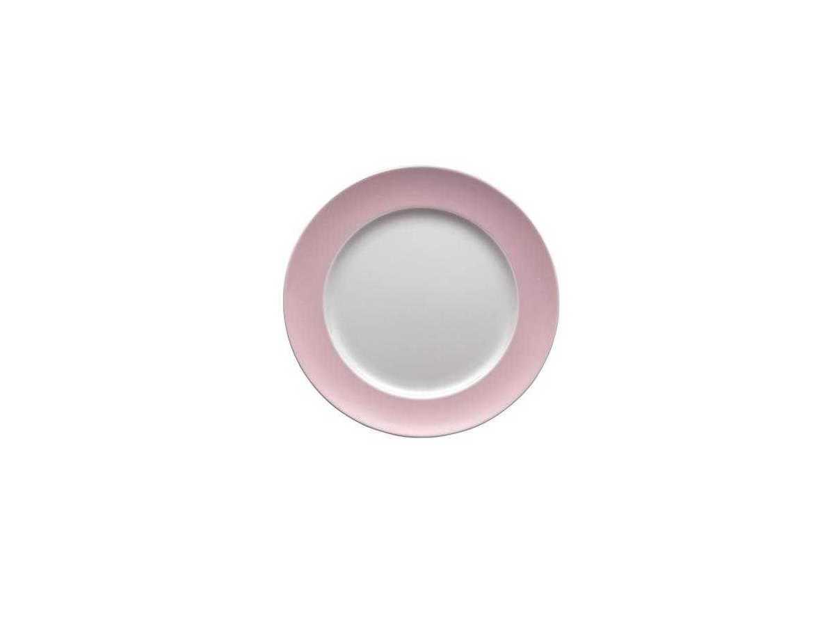 Онлайн каталог PROMENU: Тарелка десертная/закусочная Rosenthal SUNNY DAY, диаметр 22 см, розовый Rosenthal 10850-408533-10222