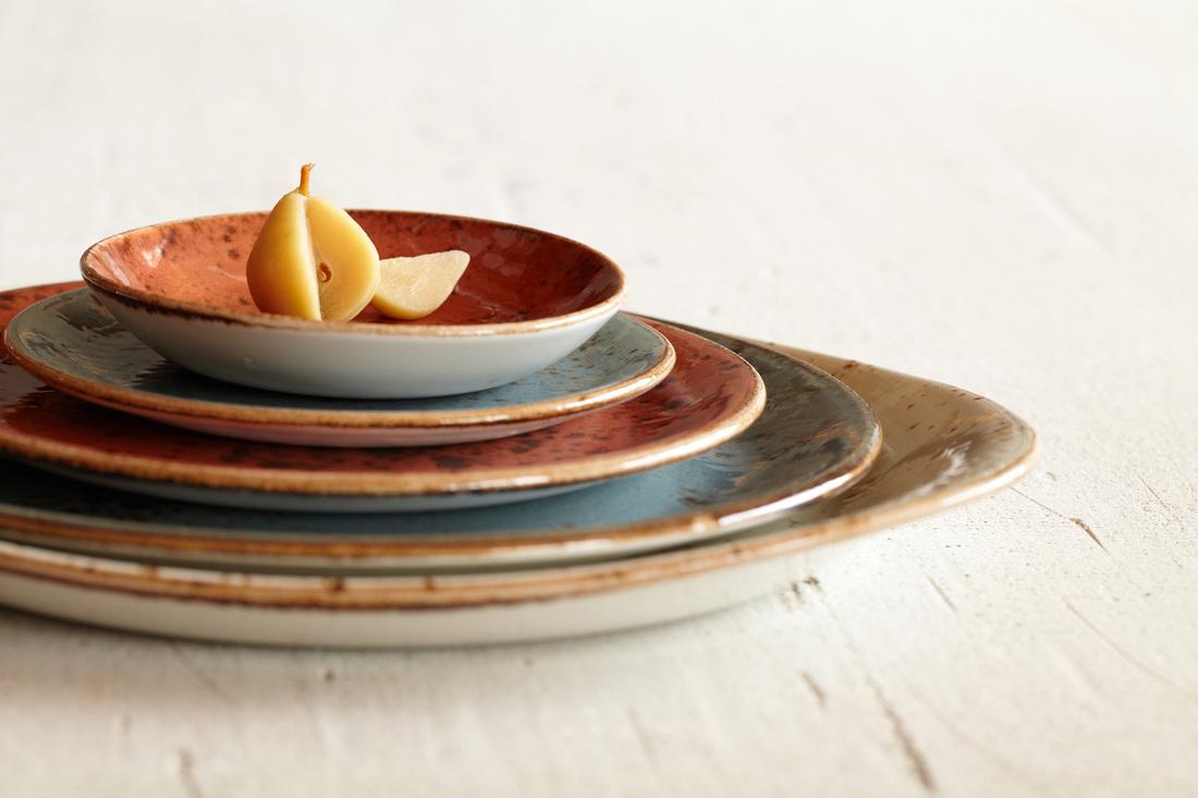 Тарелка десертная/закусочная Steelite CRAFT GREEN, диаметр 20,3 см, зеленый Steelite 11310567 фото 2