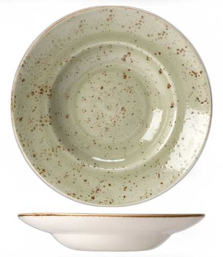 Тарелка глубокая Steelite CRAFT GREEN, диаметр 27 см, зеленый Steelite 11310372 фото 1