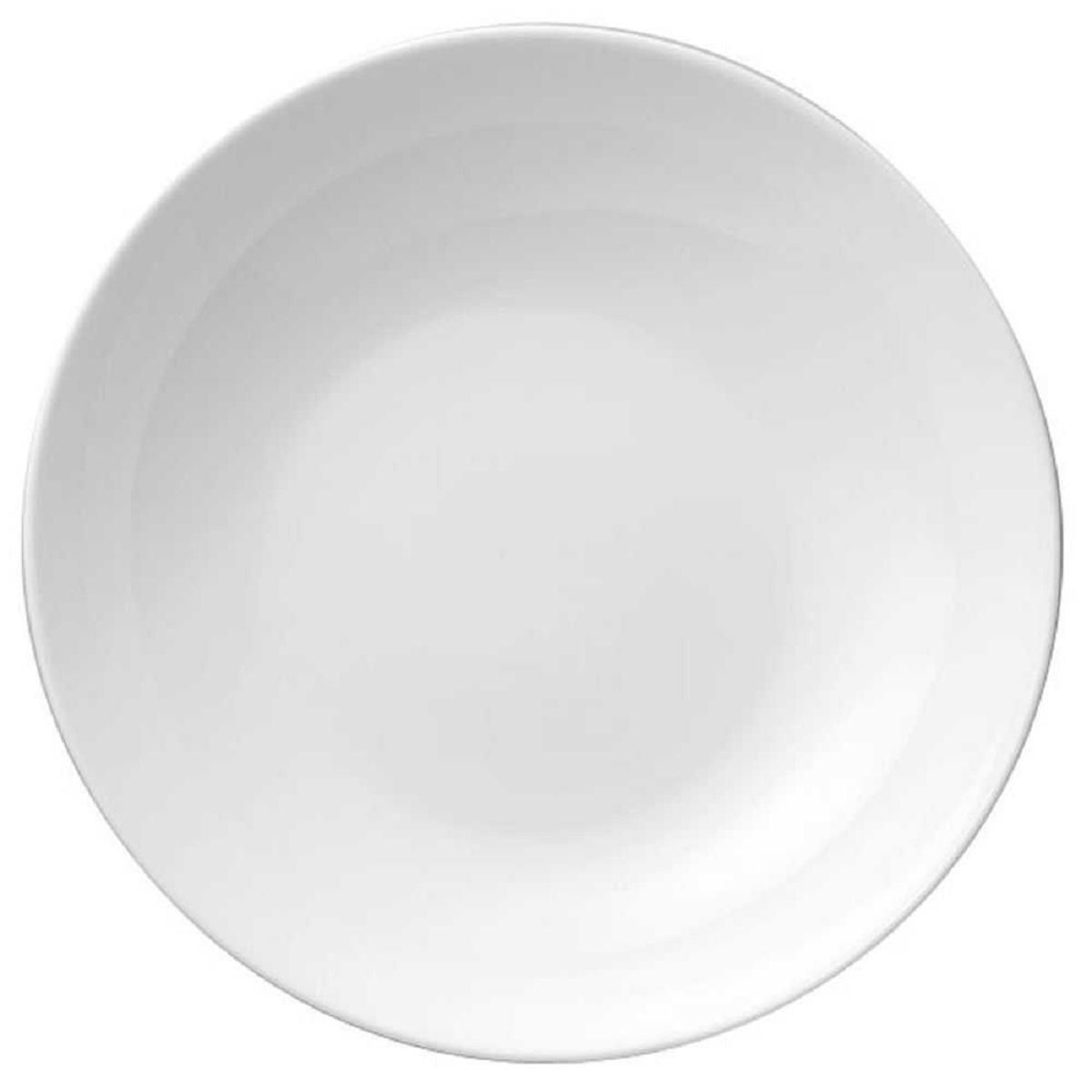 Онлайн каталог PROMENU: Тарелка глубокая фарфоровая Rosenthal JADE, диаметр 19 см, белый  61040-800001-10319