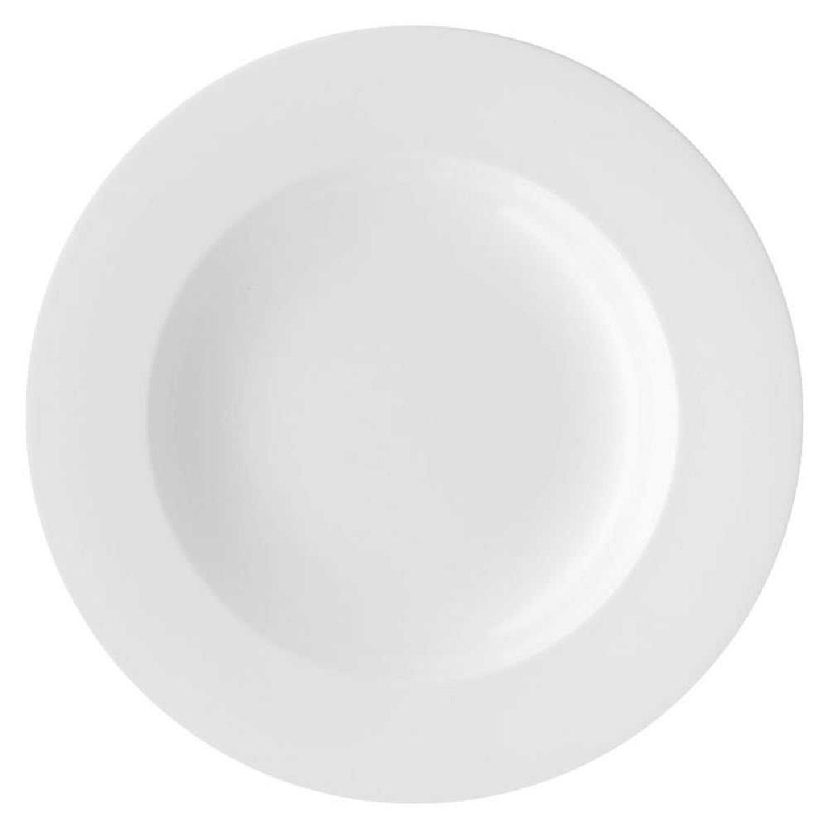 Онлайн каталог PROMENU: Тарелка глубокая фарфоровая Rosenthal JADE, диаметр 23 см, белый Rosenthal 61040-800001-10123