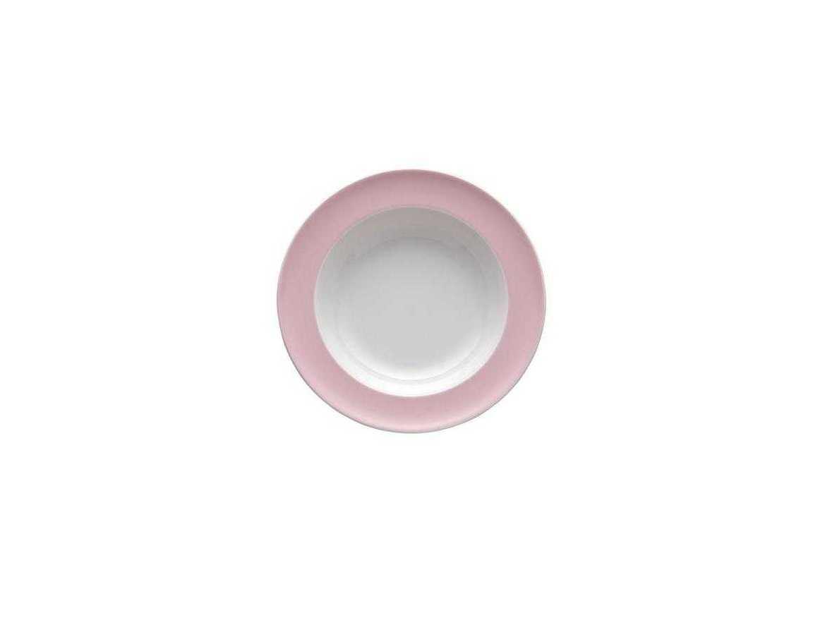 Тарелка глубокая фарфоровая Rosenthal SUNNY DAY, диаметр 23 см, розовый Rosenthal 10850-408533-10323 фото 0