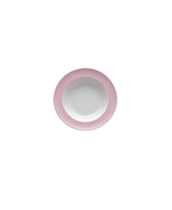 Тарелка глубокая фарфоровая Rosenthal SUNNY DAY, диаметр 23 см, розовый Rosenthal 10850-408533-10323 фото 2