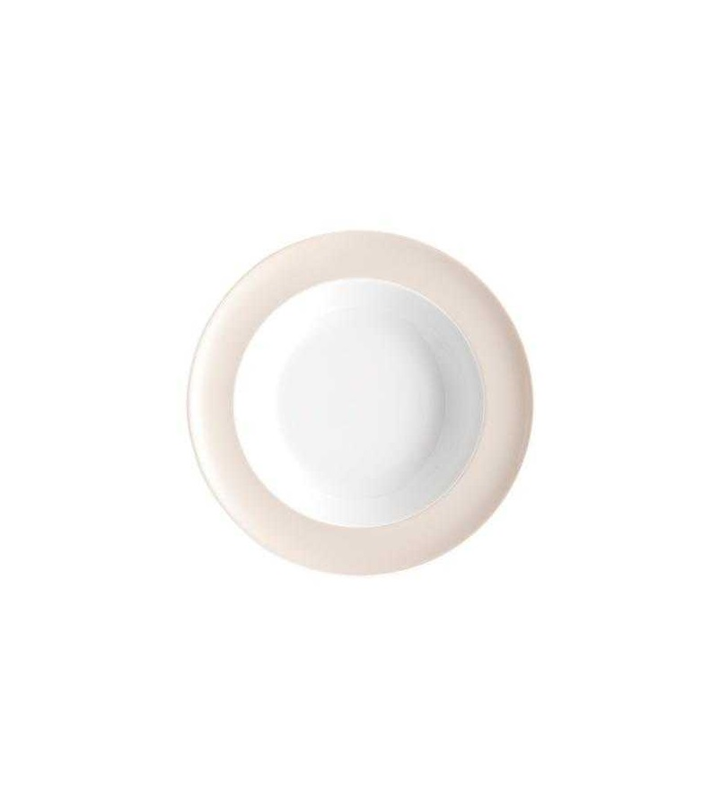Онлайн каталог PROMENU: Тарелка глубокая фарфоровая Rosenthal SUNNY DAY, диаметр 23 см, бежевый Rosenthal 10850-408529-10323