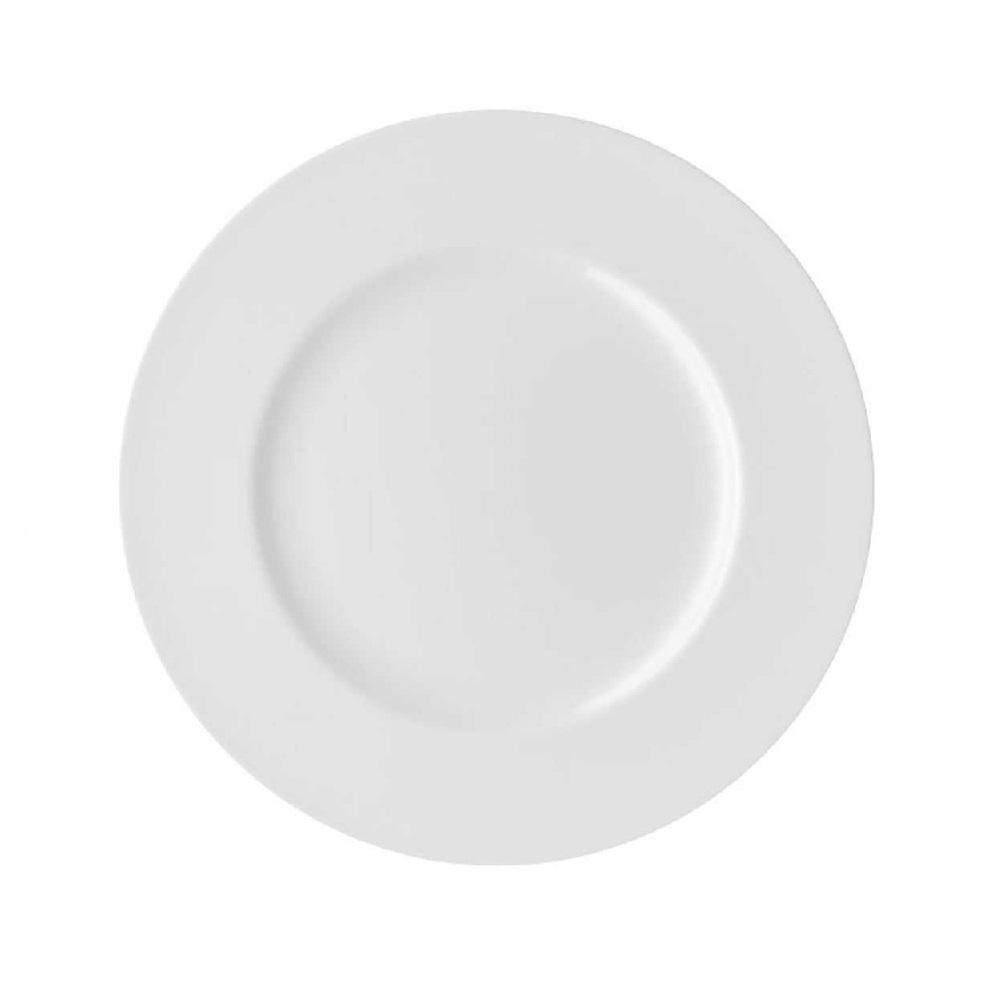 Тарелка основная фарфоровая Rosenthal Jade, диаметр 23 см, белый Rosenthal 61040-800001-10023 фото 1