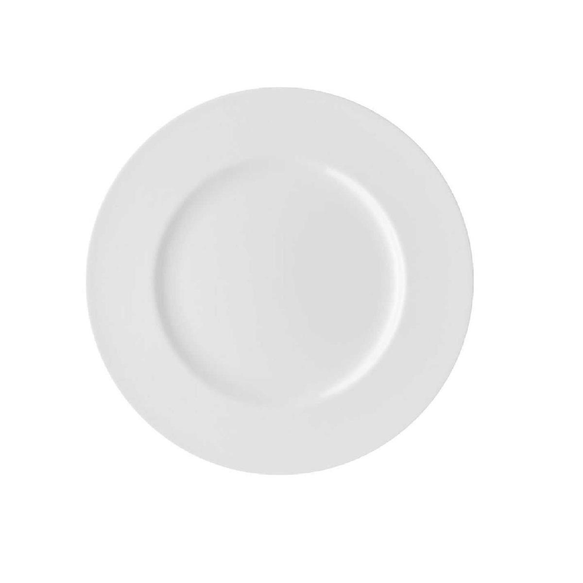 Тарелка основная фарфоровая Rosenthal JADE, диаметр 27 см, белый Rosenthal 61040-800001-10027 фото 1