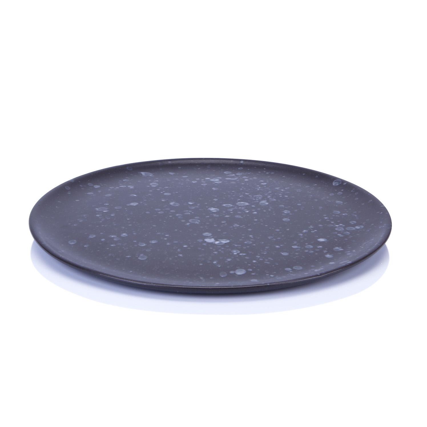 Онлайн каталог PROMENU: Тарелка подстановочная/сервировочная Aida Raw, 28 см, черная                               15212