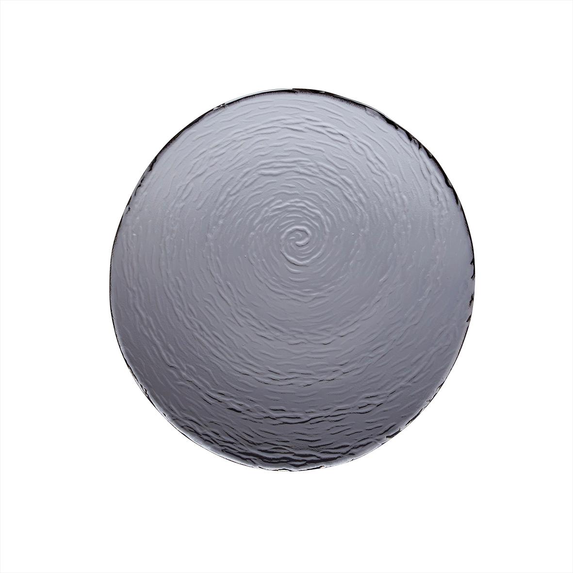 Онлайн каталог PROMENU: Тарелка сервировочная/подстановочная Steelite Scape Glass Smoked, 30 см                               6513G380