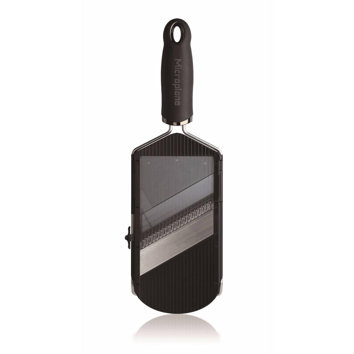 Онлайн каталог PROMENU: Терка-слайсер Microplane SPECIALTY, 12х4х1 см, черная (34040) Microplane 34040