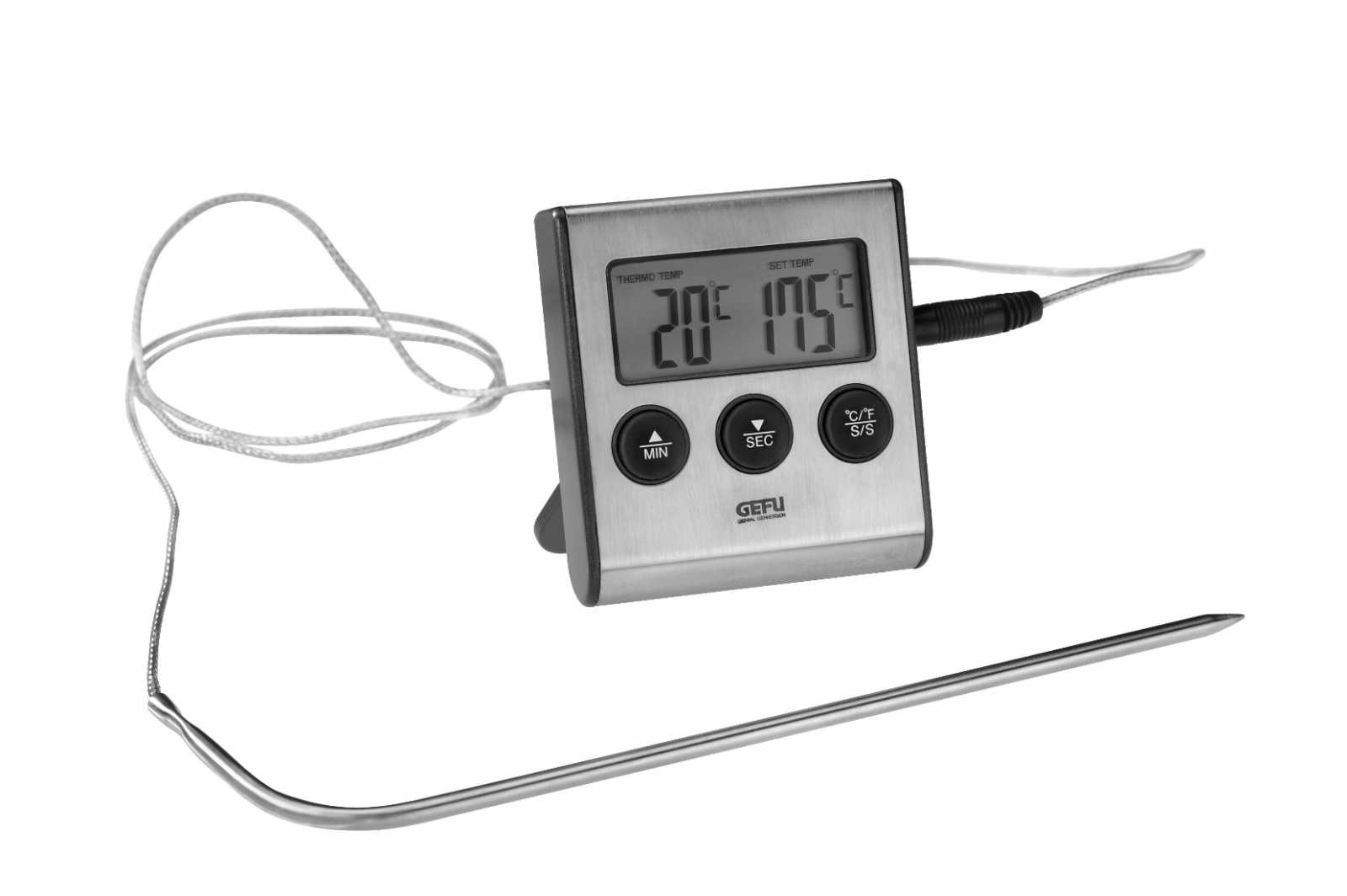 Онлайн каталог PROMENU: Термометр кухонный GEFU, серебристый GEFU 21840