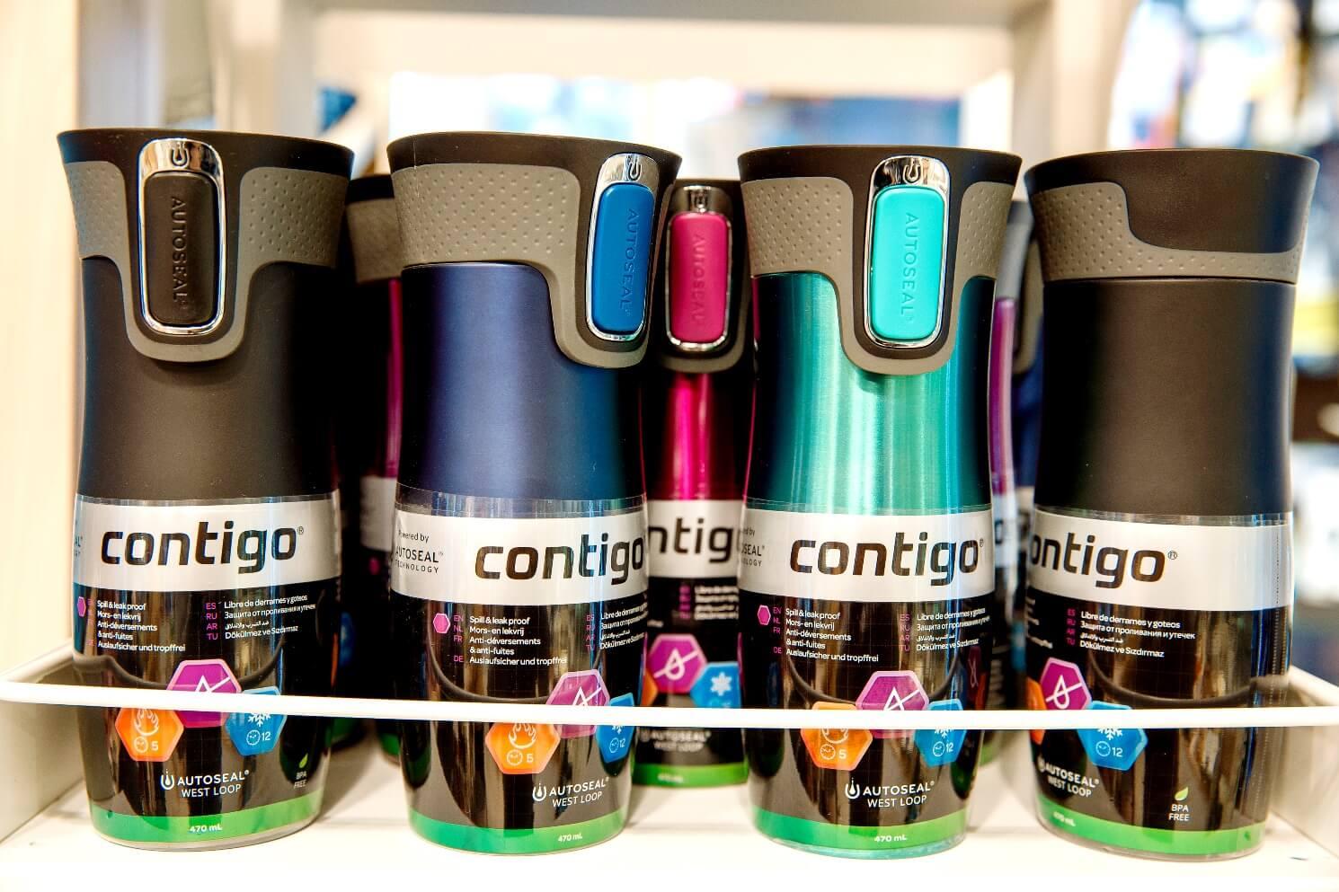 Термостакан Contigo West Loop, объем 0,47 л, фиолетовый Contigo 1000-0016/70006 фото 3