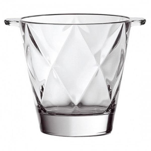 Онлайн каталог PROMENU: Ведро для льда Vidivi CONCERTO, диаметр 15 см, высота 15 см, прозрачный Vidivi 61505EM