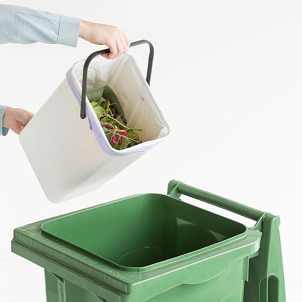 Ведро для мусора Sort&Go Brabantia, объем 12 л, белый Brabantia 109782 фото 5