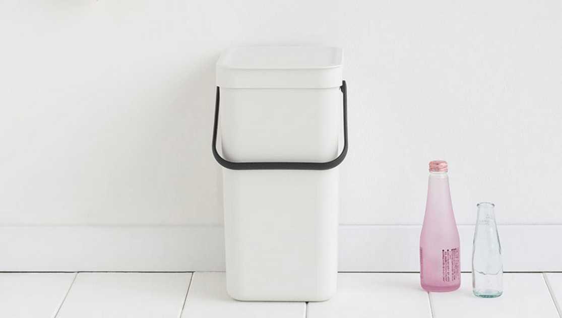 Ведро для мусора Sort&Go Brabantia, объем 12 л, белый Brabantia 109782 фото 2