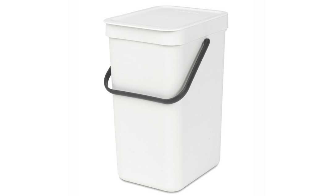 Ведро для мусора Sort&Go Brabantia, объем 12 л, белый Brabantia 109782 фото 0