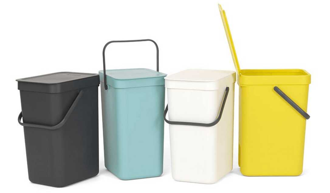 Ведро для мусора Sort&Go Brabantia, объем 12 л, белый Brabantia 109782 фото 3