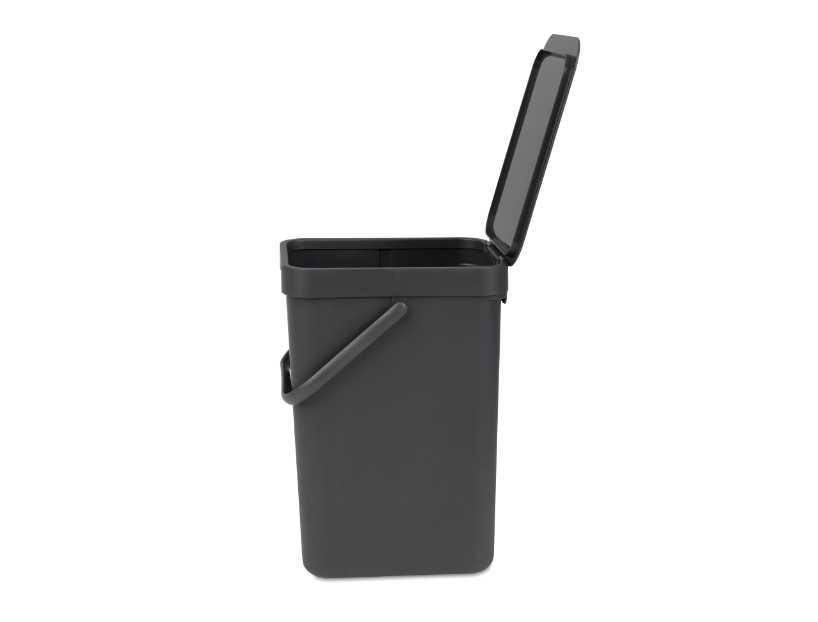 Ведро для мусора Sort&Go Brabantia, объем 12 л, серый Brabantia 109805 фото 3
