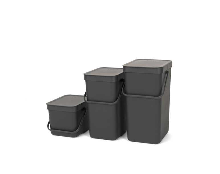 Ведро для мусора Sort&Go Brabantia, объем 12 л, серый Brabantia 109805 фото 9