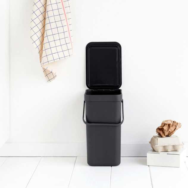 Ведро для мусора Sort&Go Brabantia, объем 12 л, серый Brabantia 109805 фото 5