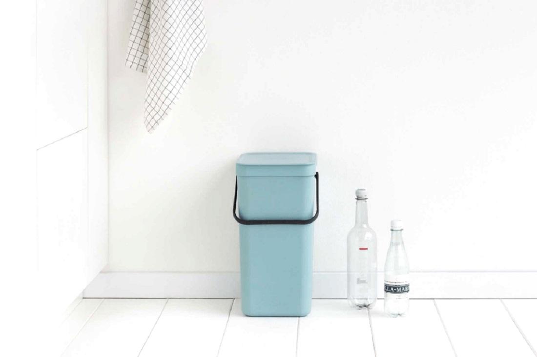 Ведро для мусора Sort&Go Brabantia, объем 12 л, мятный Brabantia 109744 фото 2
