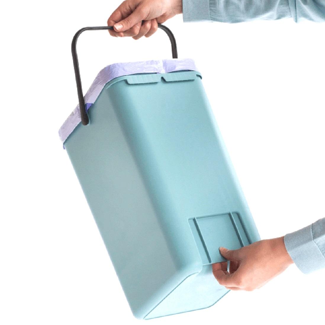 Ведро для мусора Sort&Go Brabantia, объем 12 л, мятный Brabantia 109744 фото 1