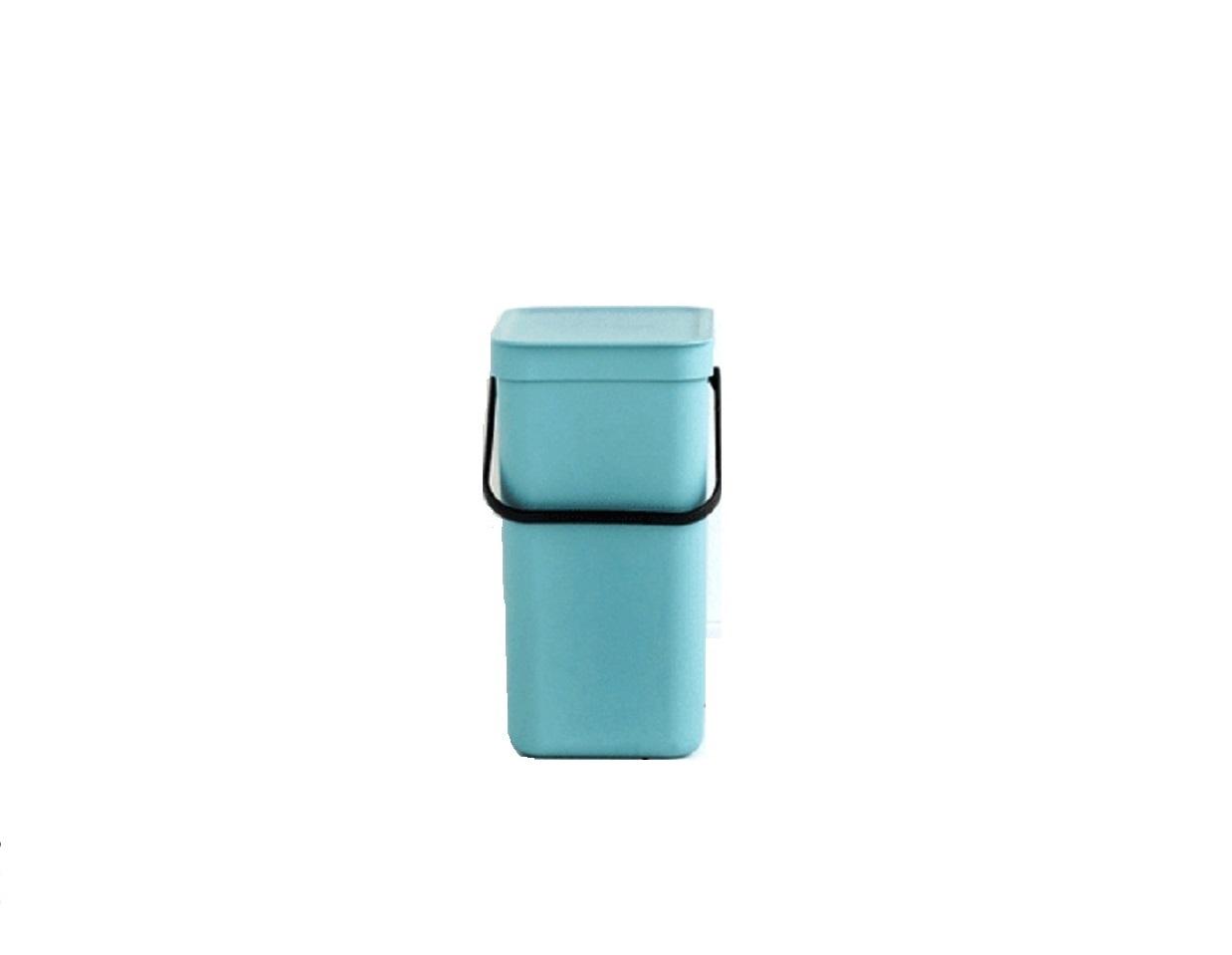 Онлайн каталог PROMENU: Ведро для мусора Sort&Go Brabantia, объем 12 л, мятный Brabantia 109744