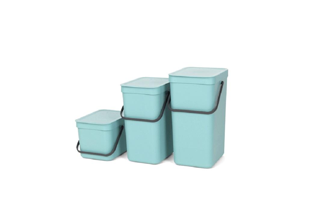 Ведро для мусора Sort&Go Brabantia, объем 12 л, мятный Brabantia 109744 фото 3